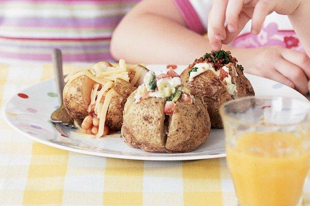 Jack Potatoes, или картофель в мундире