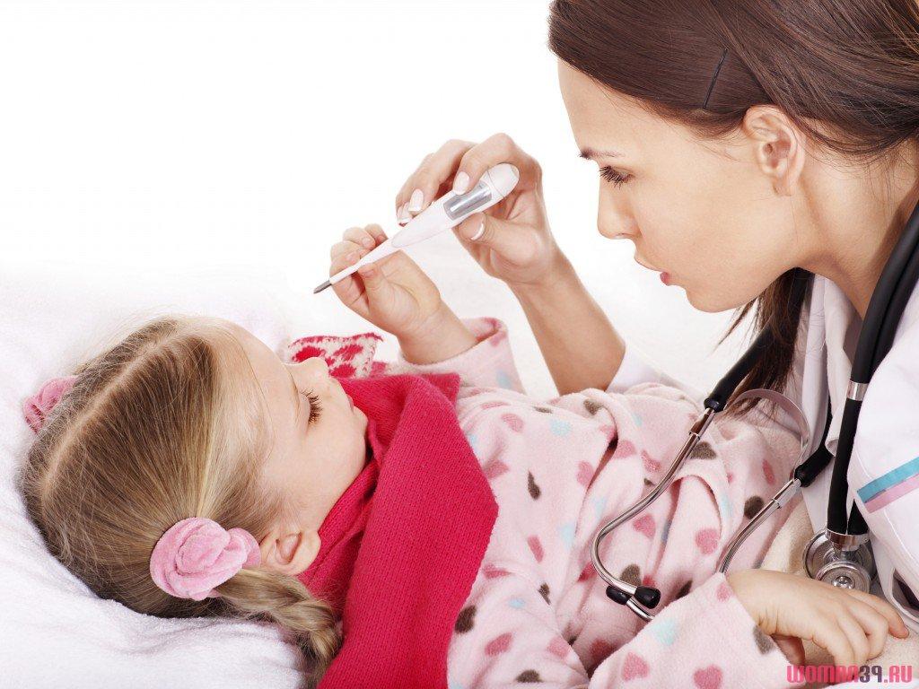 Лихорадка и сыпь у детей фото