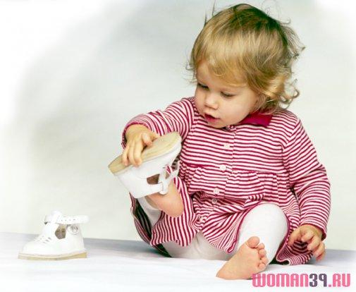 Детская обувь «на первый шаг» | Первая обувь для