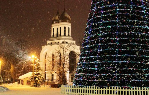 Калининград вошёл в топ-5 городов России для отдыха на Новый год